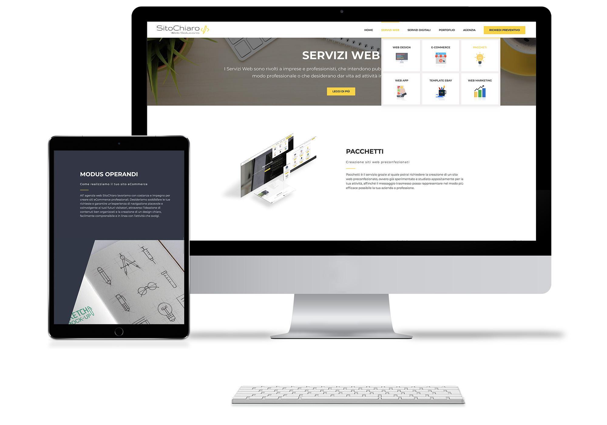 Creazione Siti Web preconfigurati Pozzuoli