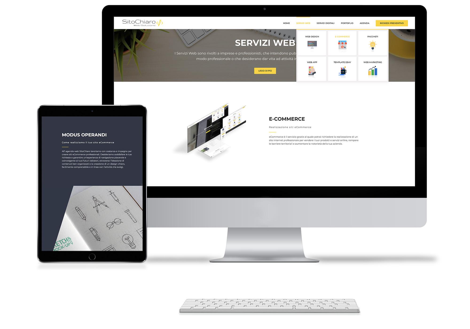 Realizzazione siti eCommerce Pozzuoli
