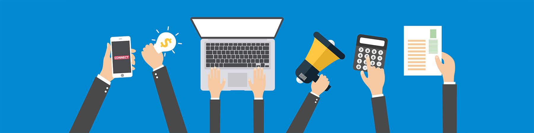 5 Step per pubblicizzarsi online